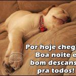 Bom descanso!