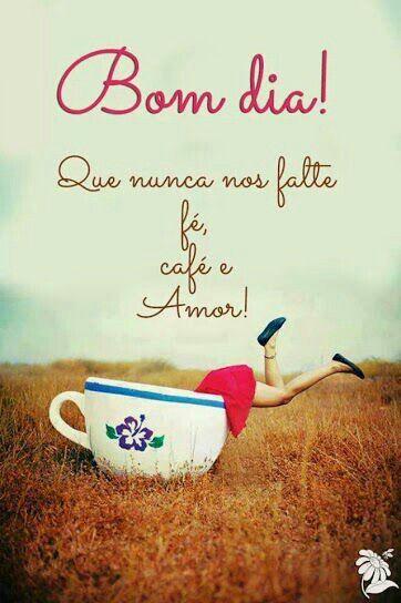 bom dia com café!