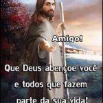 Deus abençoe você