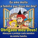 Família que Deus me deu…