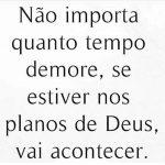 Planos de Deus