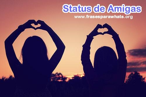 status de amigas