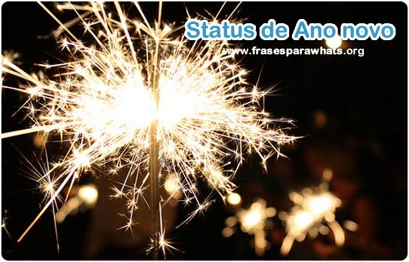 status de ano novo