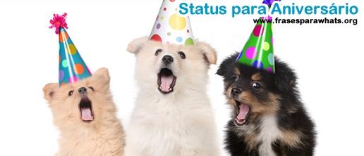 Status para Aniversário