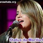 25 Status da Marília Mendonça
