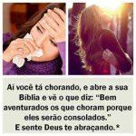 Deus te abraçando