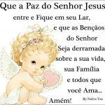 Paz do Senhor Jesus