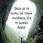 Deus já te ouviu