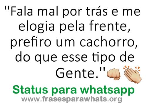 Status de whatsapp