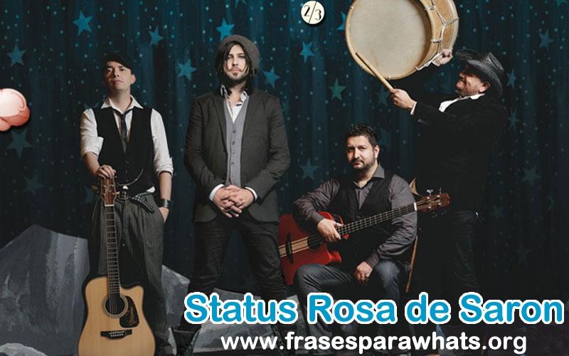 Status E Trechos De Músicas De Rosa De Saron