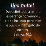 Esperança no Senhor
