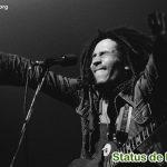 Status de Bob Marley