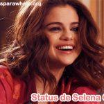 Status de Selena Gomez