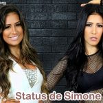 Status de Simone e Simaria